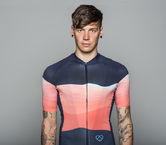 Summit Jersey Orange by Warsaw Cycling