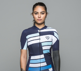 Inclinaison Jersey Navy by Warsaw Cycling