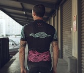 Black Sea Jersey (Unisex) by Warsaw Cycling