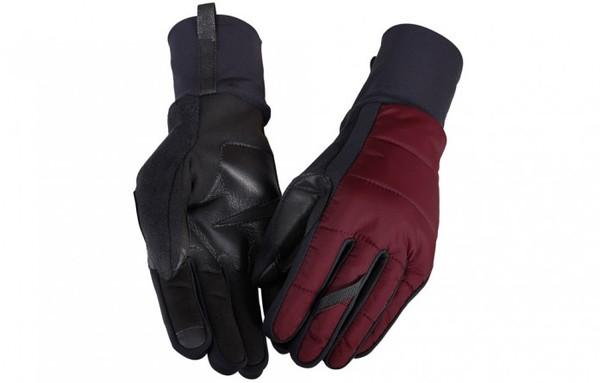 Red Mid Season Gloves by Café du Cycliste