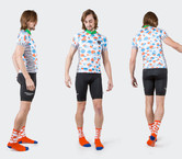 White Cloud Camouflage Jersey by Tenspeed Hero